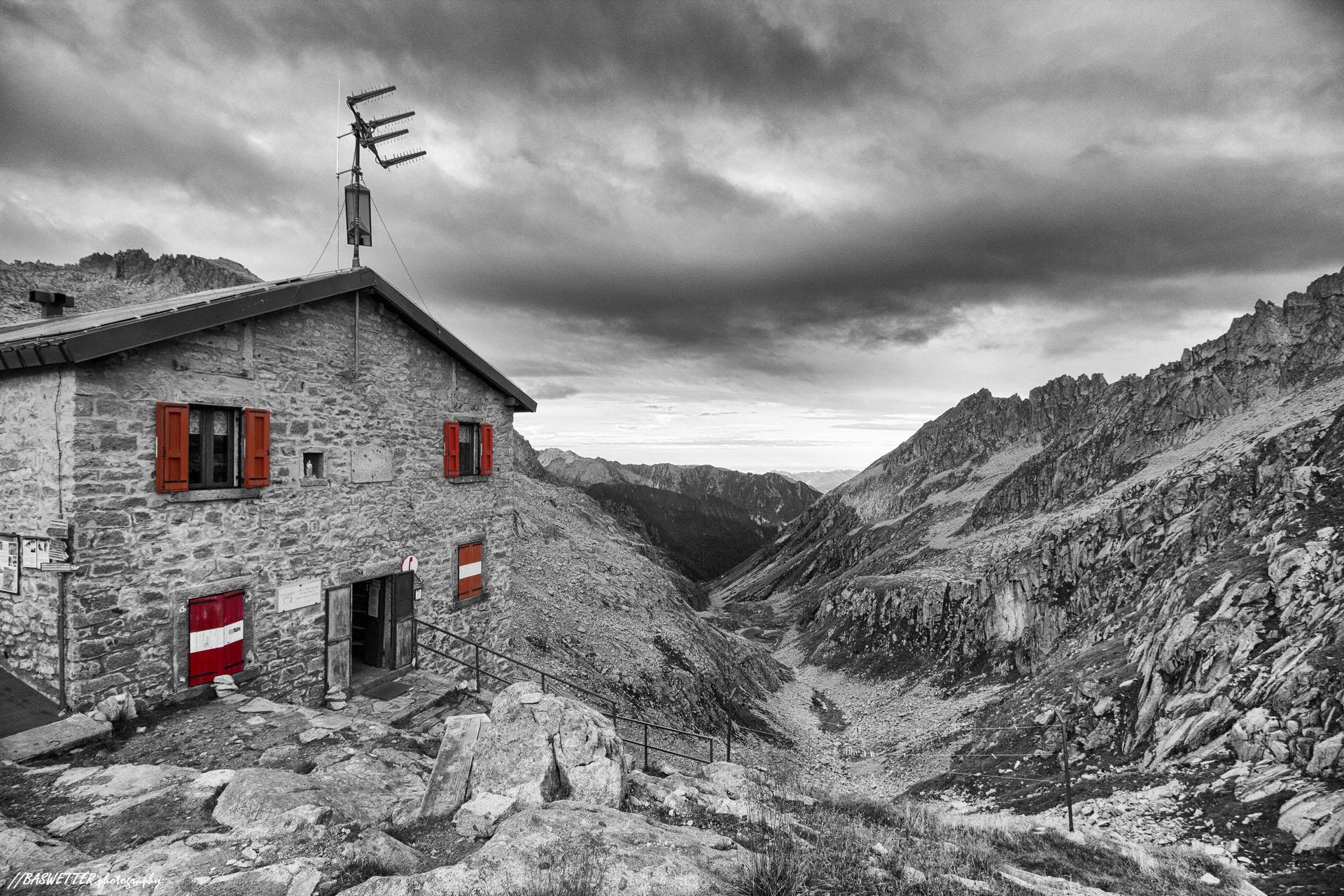 Alta via dell'Adamello in de Dolomieten - Rifugio Maria e Franco